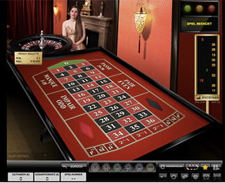 CasinoCruise Live French Roulette
