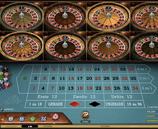 CasinoCruise Multi-Wheel Roulette