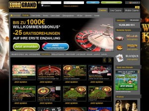 Eurogrand NewAr Roulette