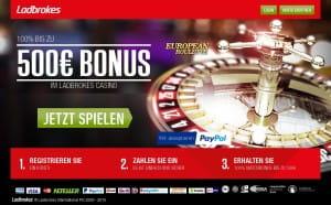 Ladbrokes Roulette Bonus