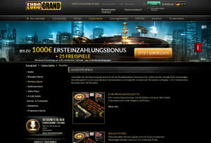 Eurogrand Roulette
