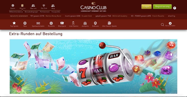 Casinoclub Freispiele