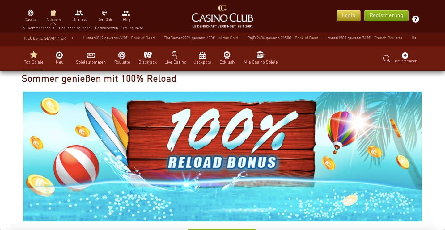 Casinoclub Download