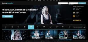 Betway Live-Casino-Wettbewerb