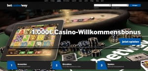 Betway Live-Roulette Rush