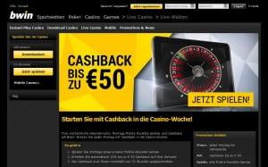 bwin Cashback