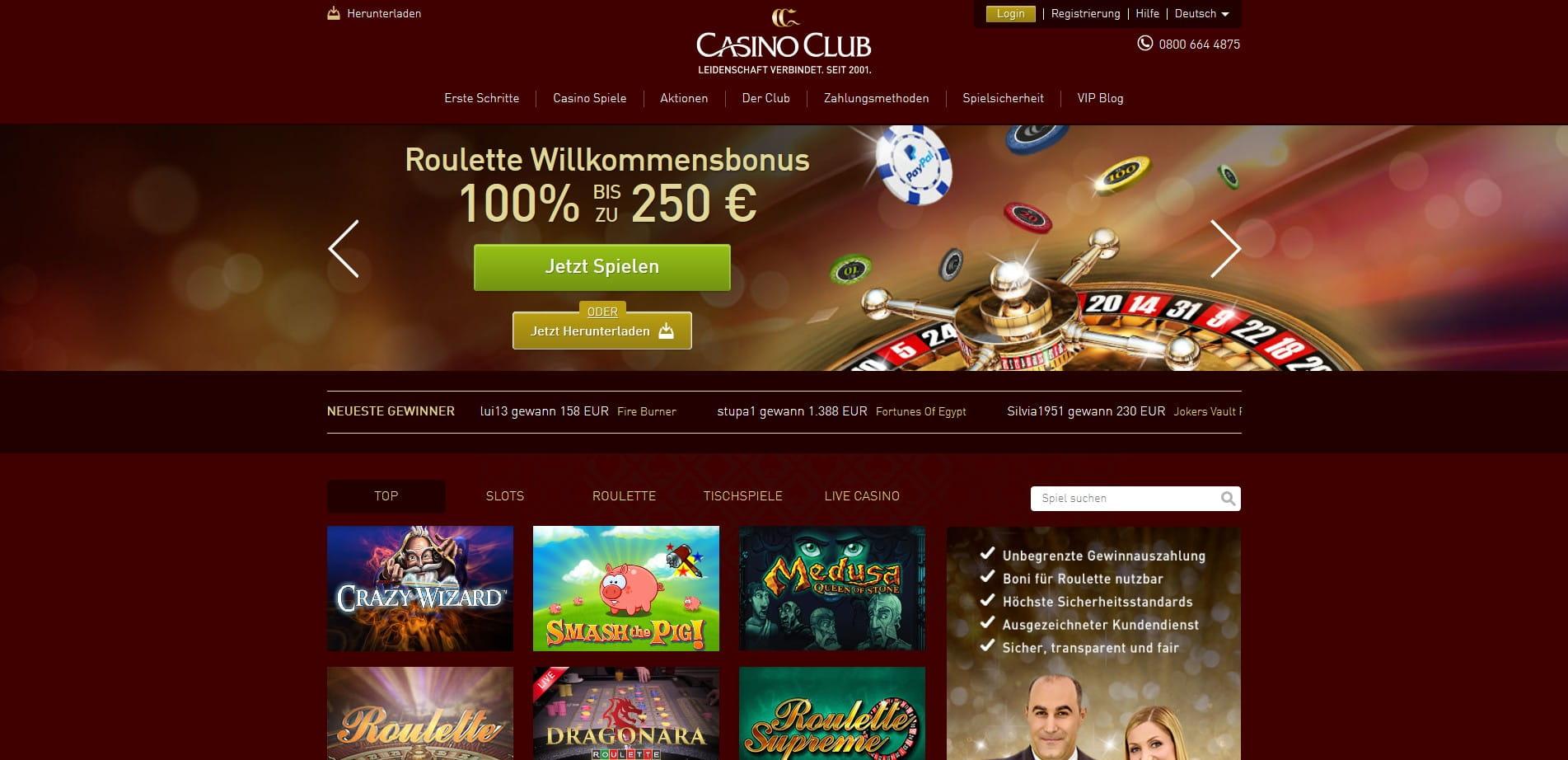 Casino Club Erfahrungen Roulette