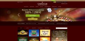 Casino Club Roulette Willkommensbonus