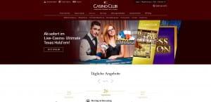 Casino Club Bonus-Tag