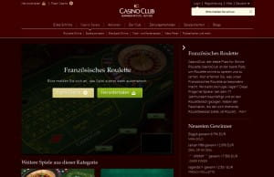 CasinoClub Französisches Roulette