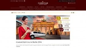 CasinoClub Live Event