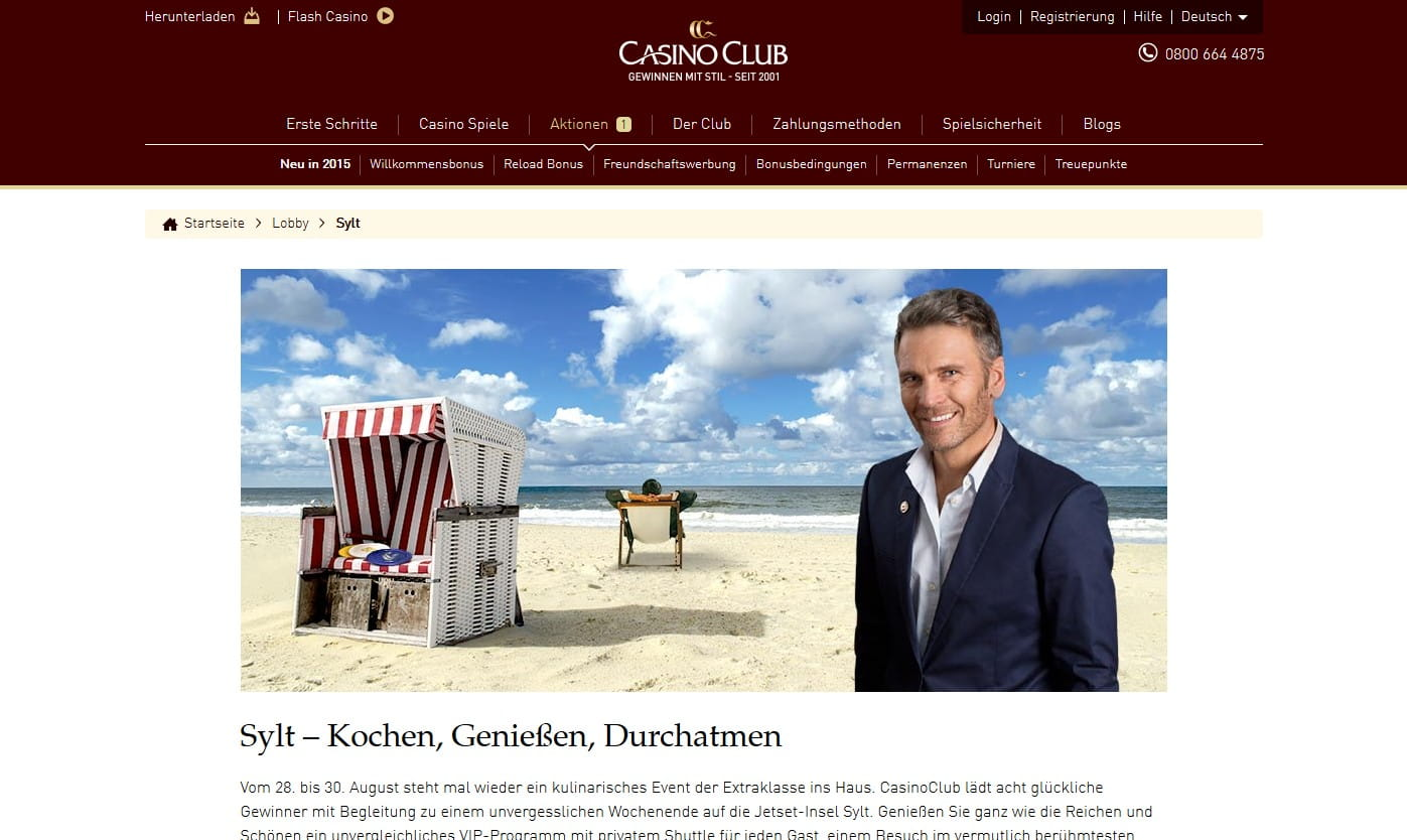 Casinoclub Deutsch