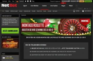 NetBet Roulette Boost